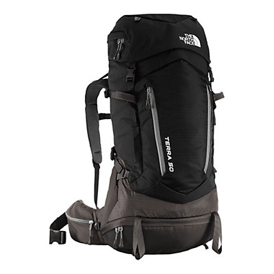 The North Face Terra 50 Backpack 2017, TNF Black-Asphalt Grey, viewer
