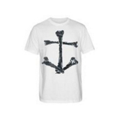 Hurley Davy Bones T-Shirt, White, medium