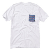 Quiksilver Mixed Bag MTZ T-Shirt, White, medium