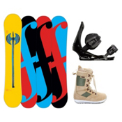 Forum Holy Moly II Complete Snowboard Package, 152cm, medium