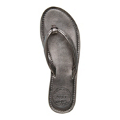 Reef Creamy Leather Metallic Womens Flip Flops, , medium