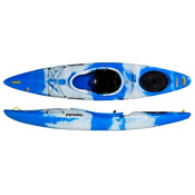 Pyranha Fusion S River Kayak, Blue-White, medium