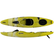 Pyranha Fusion M River Kayak 2014, Yellow-White-Grey, medium