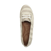 Reef Deckhand Womens Shoes, Tan-Stripes, medium
