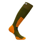 Euro Sock Ski Zone Ski Socks, Green, medium