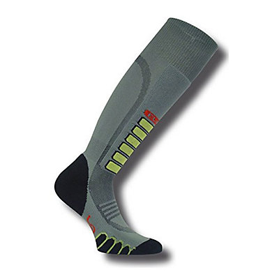 Euro Sock Silver Supreme Ski Socks, Grey, viewer
