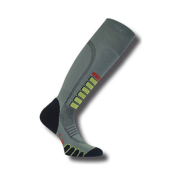 Euro Sock Silver Supreme Ski Socks, Grey, 600