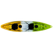 Feel Free Gemini Tandem Kayak, Melon, medium