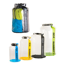 Sea to Summit Clear Stopper Dry Bag, Assorted, 256