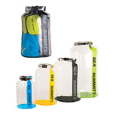 Sea to Summit Clear Stopper Dry Bag, Assorted, viewer