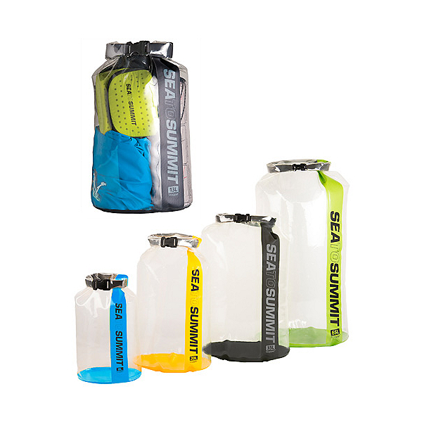Sea to Summit Clear Stopper Dry Bag, Assorted, 600
