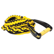 Proline LG Surf Wakesurf Rope 2016, Neon Yellow, medium