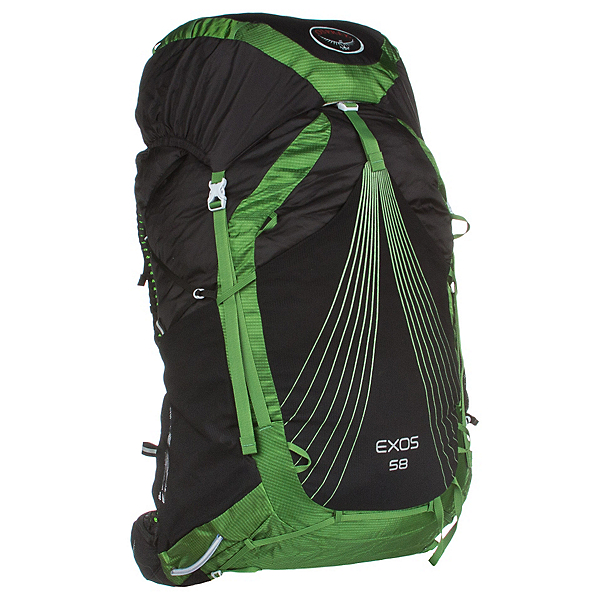 Osprey Exos 58 Backpack, Basalt Black, 600