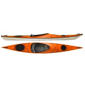Hurricane Tampico 140 L Light Touring Kayak 2014, Mango, medium