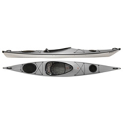Hurricane Tampico 140 L Light Touring Kayak 2014, Silver, medium