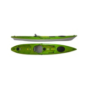 Hurricane Skimmer 140 Sit On Top Kayak, Green, medium