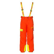 Marker Headwall Kids Ski Pants, Orange, medium