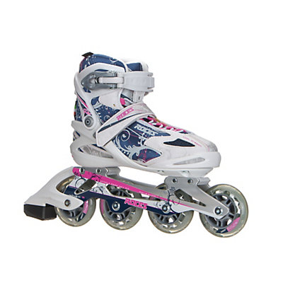 Roces Flos Womens Inline Skates, White-Blue-Pink, viewer