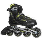 Roces Xenon Inline Skates, Black-Acid Green, medium