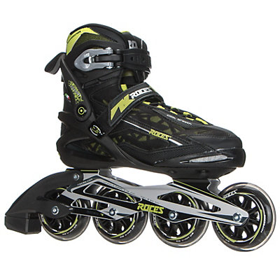 Roces Xenon Inline Skates, Black-Acid Green, viewer