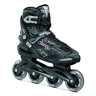 Roces Tattoo Inline Skates, Black-Silver, viewer