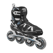 Roces Gymnasium Inline Skates, Black-Silver-Blue, medium