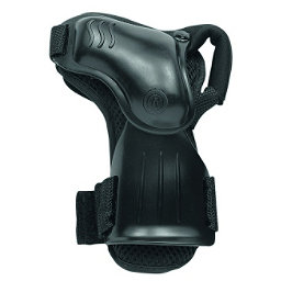 Roces W Safe Pivoting Wrist Guards, Black, 256