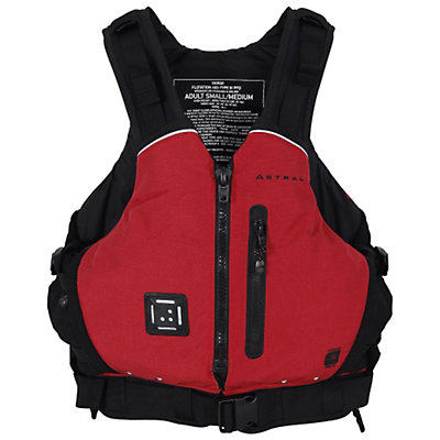 Astral Norge Adult Kayak Life Jacket, Red, viewer