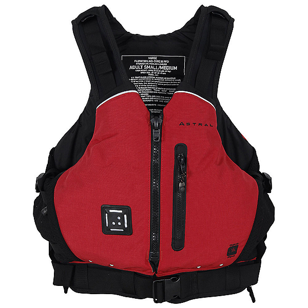 Astral Norge Adult Kayak Life Jacket, Red, 600
