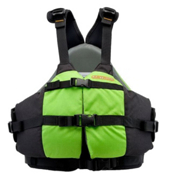 Astral Otter Kids Kayak Life Jacket 2015, Green, medium