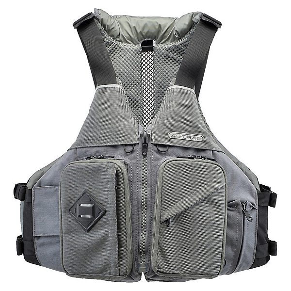Astral Ronny Fisher Fishing Kayak Life Jacket, Charcoal, 600