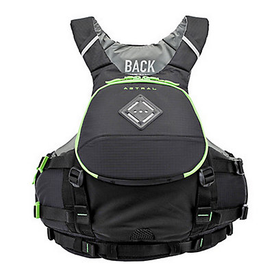 Astral Sea Wolf Adult Kayak Life Jacket, Black, viewer