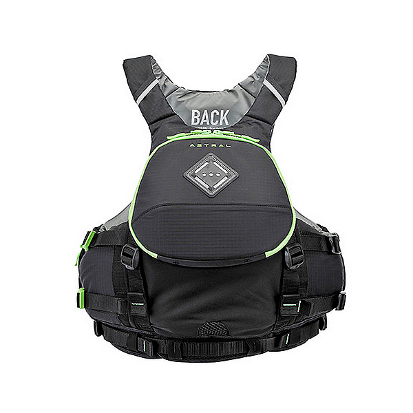Astral Sea Wolf Adult Kayak Life Jacket, Black, 600