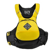 Astral Sea Wolf Adult Kayak Life Jacket 2016, Yellow, medium
