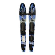 Hydroslide Wide Track Jr Junior Combo Water Skis With Universal Bindings 2015, , medium
