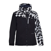 Volcom Shadow Mens Insulated Snowboard Jacket, White, medium