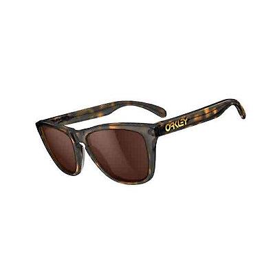 Oakley Frogskins LX Sunglasses, Dark Brown Tortoise-Dark Bronze, large