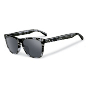 Oakley Frogskins LX Sunglasses, Dark Grey Tortoise-Black Iridium, medium