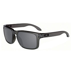 Oakley Holbrook Sunglasses, Grey Smoke-Black Iridium, 256