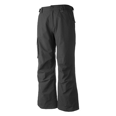 Obermeyer Rail Yard Shell Short Mens Ski Pants, Granite, viewer