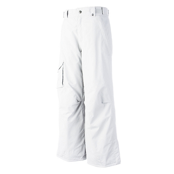 Obermeyer Rail Yard Husky Girls Ski Pants, White, 600