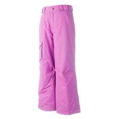 Obermeyer Rail Yard Husky Girls Ski Pants, White, viewer