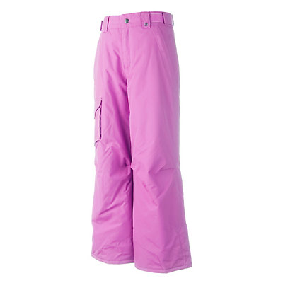 Obermeyer Rail Yard Girls Ski Pants, Essential Pink, viewer