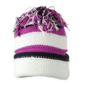 Obermeyer Class Knit Toddlers Hat, White, medium