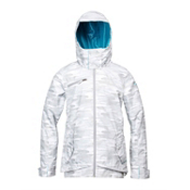 Roxy Juno Womens Insulated Snowboard Jacket, Snow Camo, medium