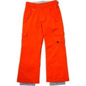 Roxy Grease Lightning Girls Snowboard Pants, Spicy Orange, medium