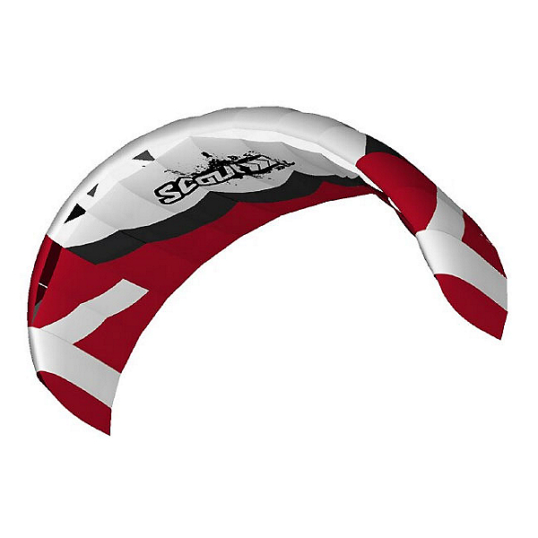 HQ Kites Scout III Kiteboarding Trainer Kite, Red, 600