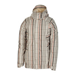 686 Reserved Ivy Womens Insulated Snowboard Jacket, Khaki Plaid, 256