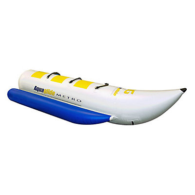 Aquaglide Metro Banana Boat 3 Person Towable Tube, , viewer