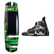 O'Brien Ace Wakeboard With Device Bindings, , medium